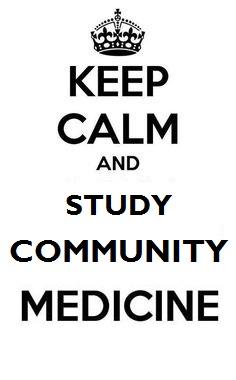 Community Medicine written 2nd prof (July, 2014) suggestion