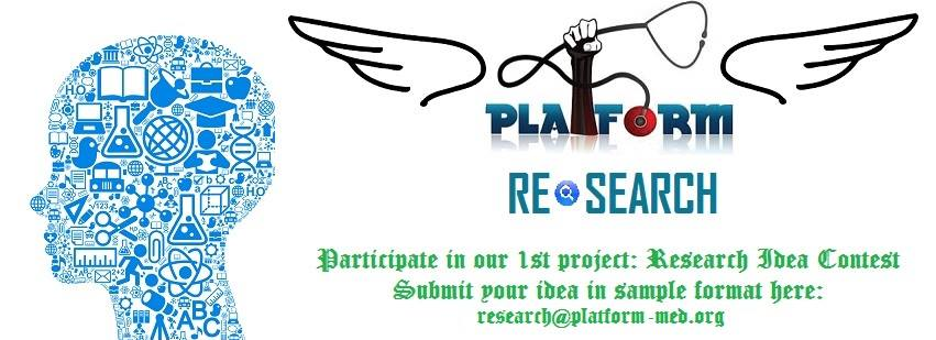 Platform Research Idea Contest Result.