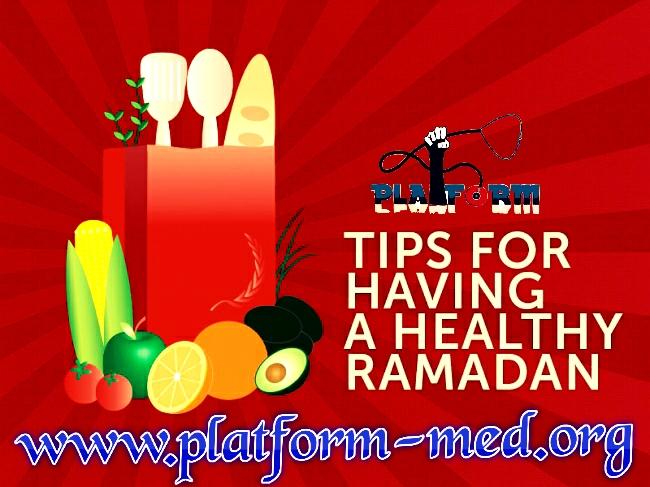 Ramadan Tips for Your Health