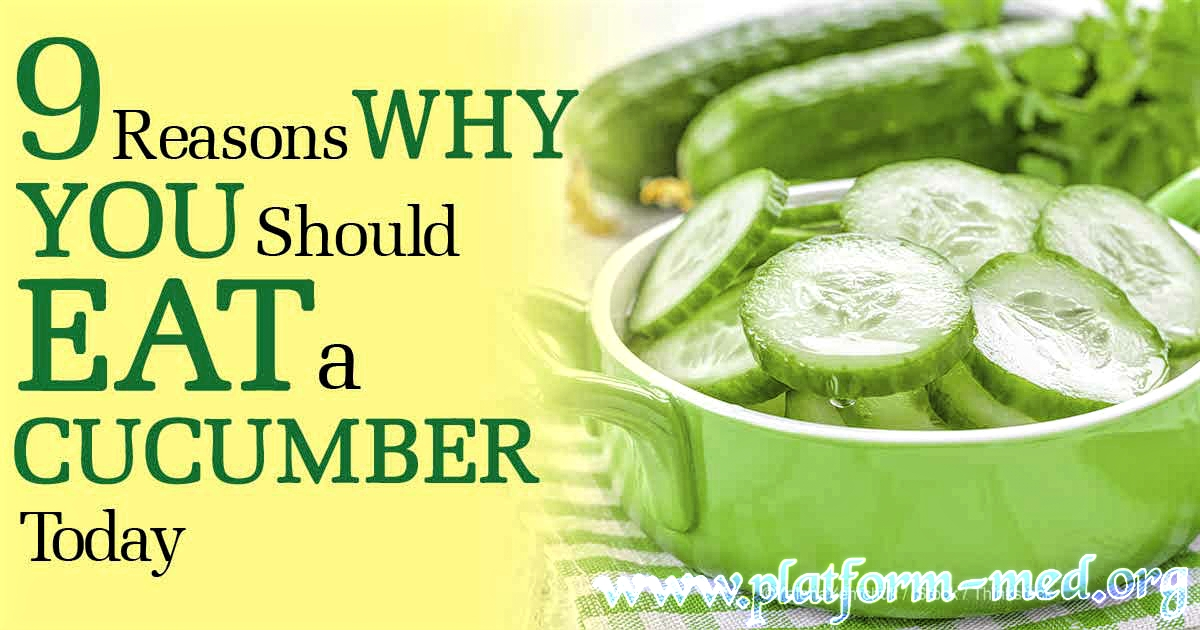 CUCUMBER The Healthiest Food