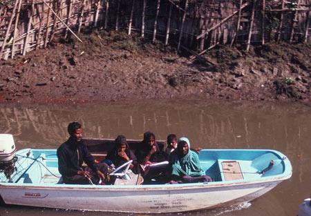 ১৯৬৭ সালে মতলবে নৌ এ্যাম্বুলেন্স