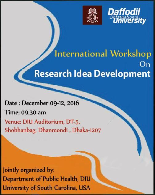 International workshop on Research Idea Development
