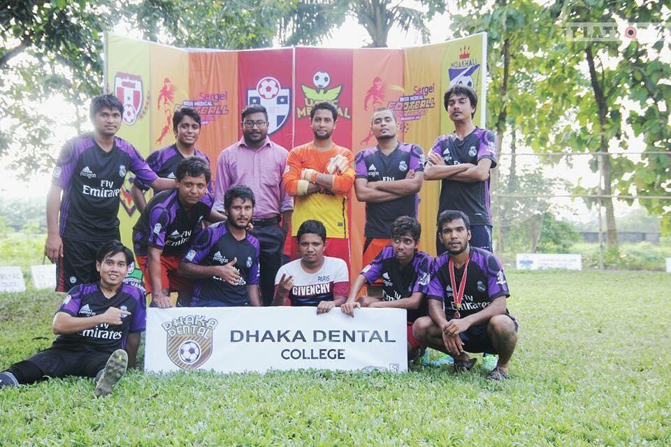 Inter Medical Football Tournament – 2017 : Match Day 2: – DDC vs PAHMC