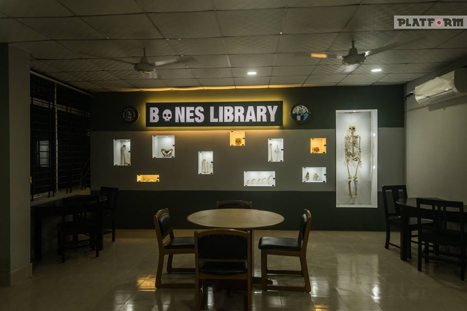 গল্পটা বোনস লাইব্রেরীর, গল্পটা বাংলাদেশের প্রথম এনাটমি লাইব্রেরীর