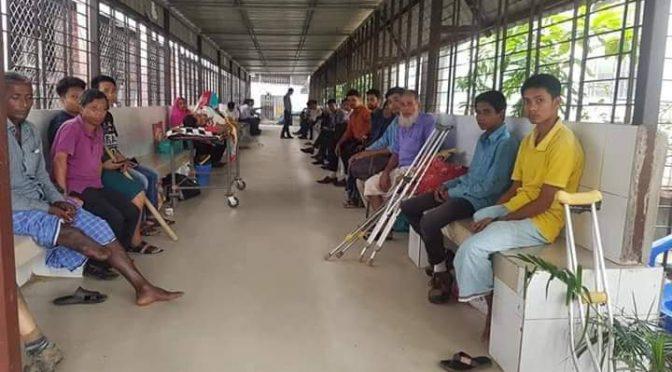 জাতীয় অর্থোপেডিক হাসপাতালে (নিটোর) চলছে বিনামূল্যে কৃত্রিম পা সংযোজন ক্যাম্প
