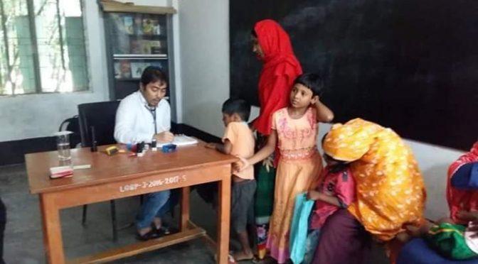 চাঁপাই নবাবগঞ্জে 'ফ্রি মেডিকেল ক্যাম্প'