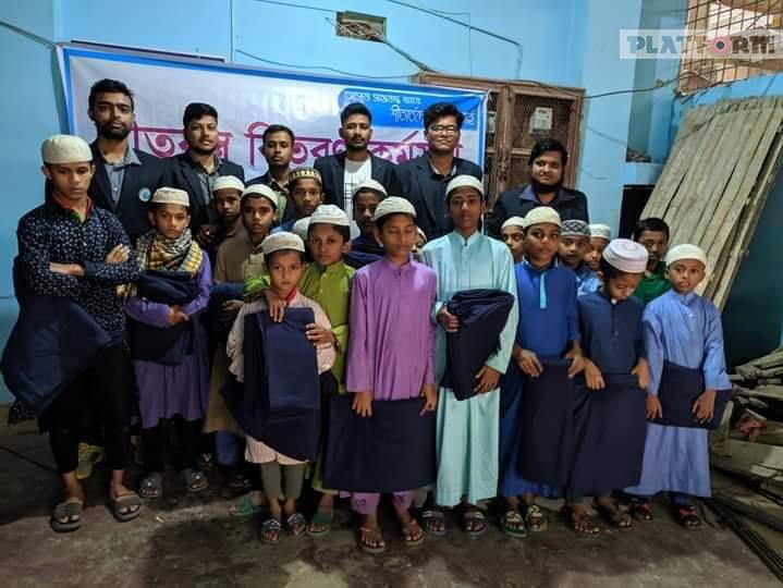 চট্টগ্রামে শীতার্থদের পাশে চট্টগ্রাম আর্মি মেডিকেল কলেজের শিক্ষার্থীরা