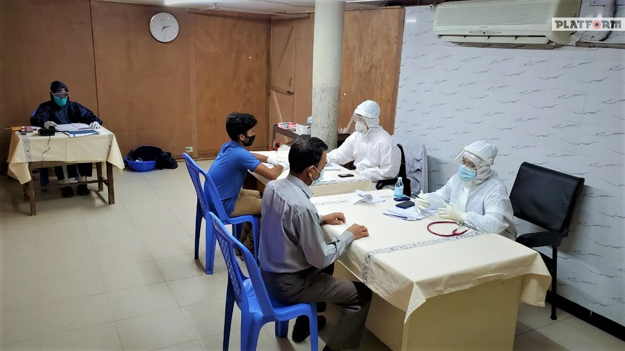 করোনা মোকাবেলায় জহুরুল ইসলাম মেডিকেল কলেজ হাসপাতালের নানামুখী প্রস্তুতি গ্রহণ