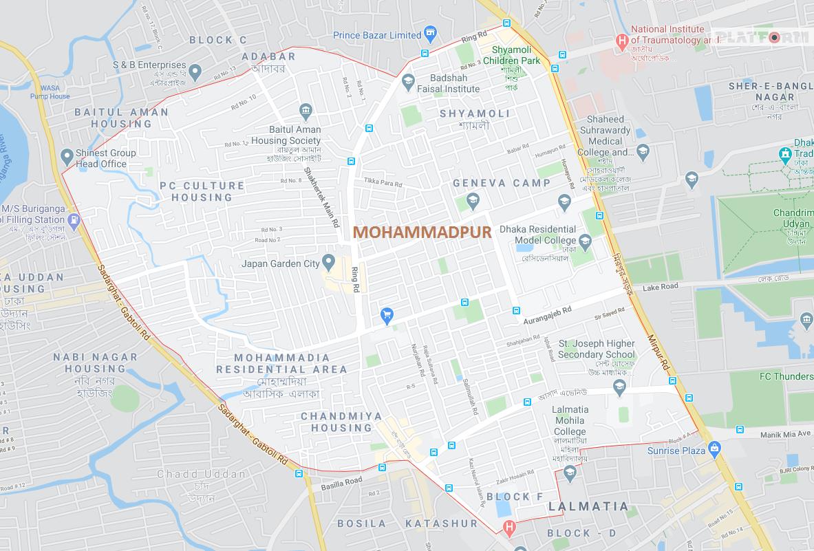 ঢাকায় সবচেয়ে বেশি করোনা আক্রান্ত মোহাম্মদপুরে