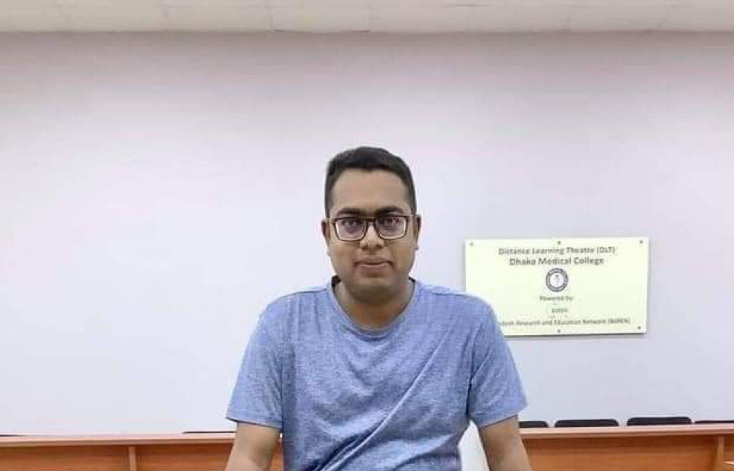 MRCP পরীক্ষায় বাংলাদেশী চিকিৎসকের অভিনব সাফল্য