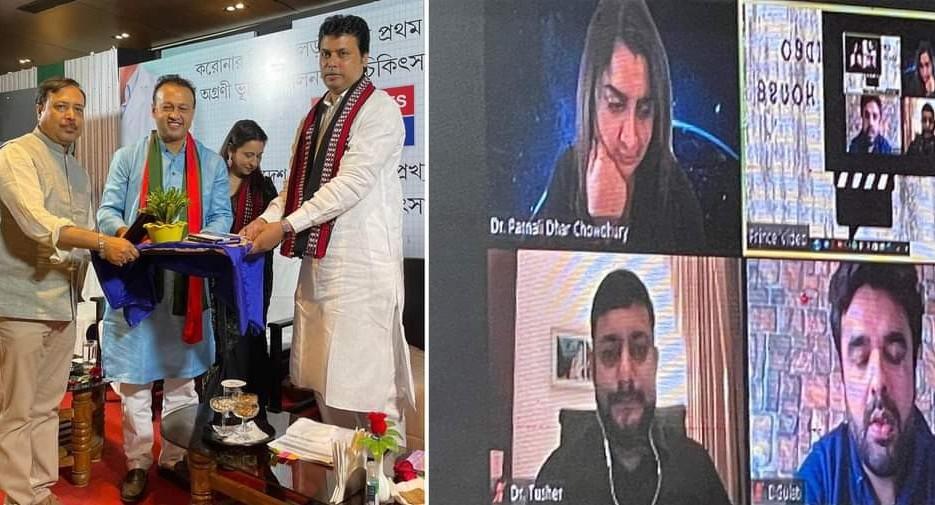 ভারতে 'চিকিৎসা রত্ন' খেতাব পেলেন  বাংলাদেশের দুই চিকিৎসক