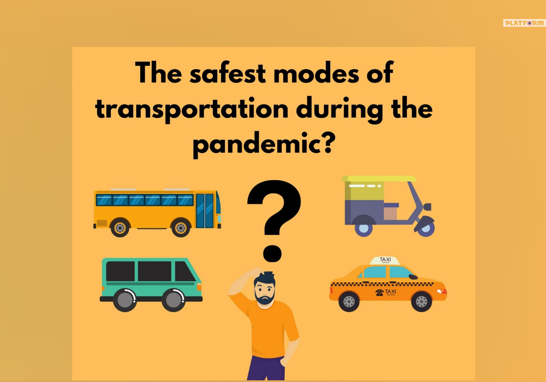 Which form of transportation will be the safest in the COVID-19 era?